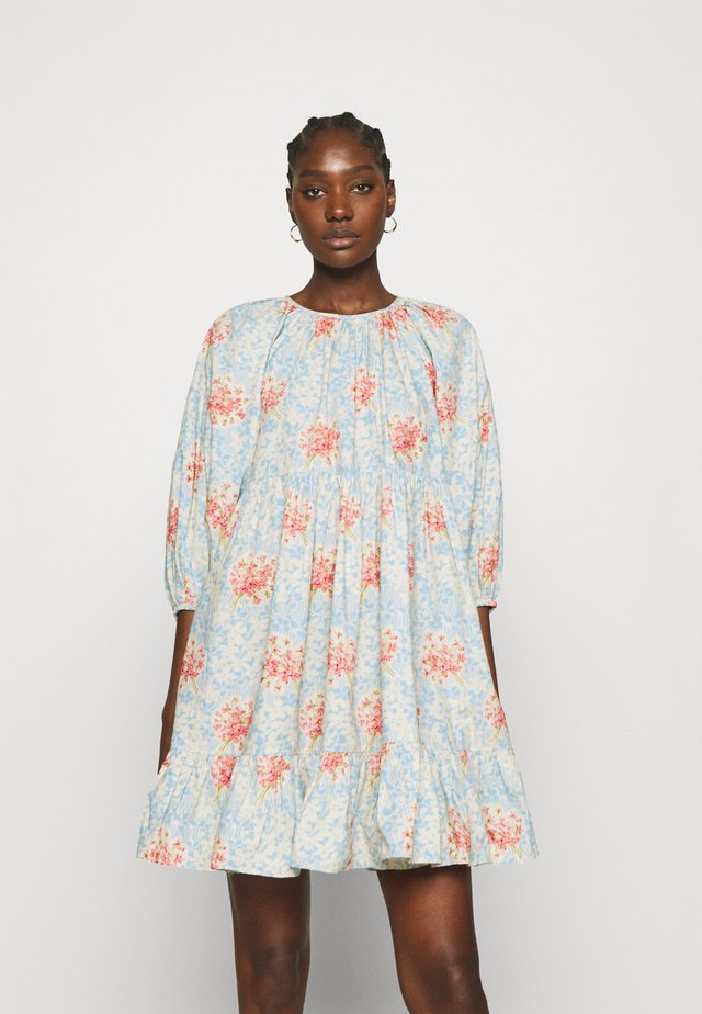 POPLIN SHIFT DRESS - Robe d'été - light blue