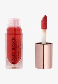 Make up Revolution - POUT BOMB PLUMPING GLOSS LIPGLOSS - Lip gloss - juicy - 0
