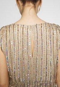 MANÉ - LAELIA DRESS - Suknia balowa - champagne/gold - 4