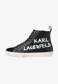 KARL LAGERFELD - SKOOL BRUSH LOGO  - Sneaker high - black - 1