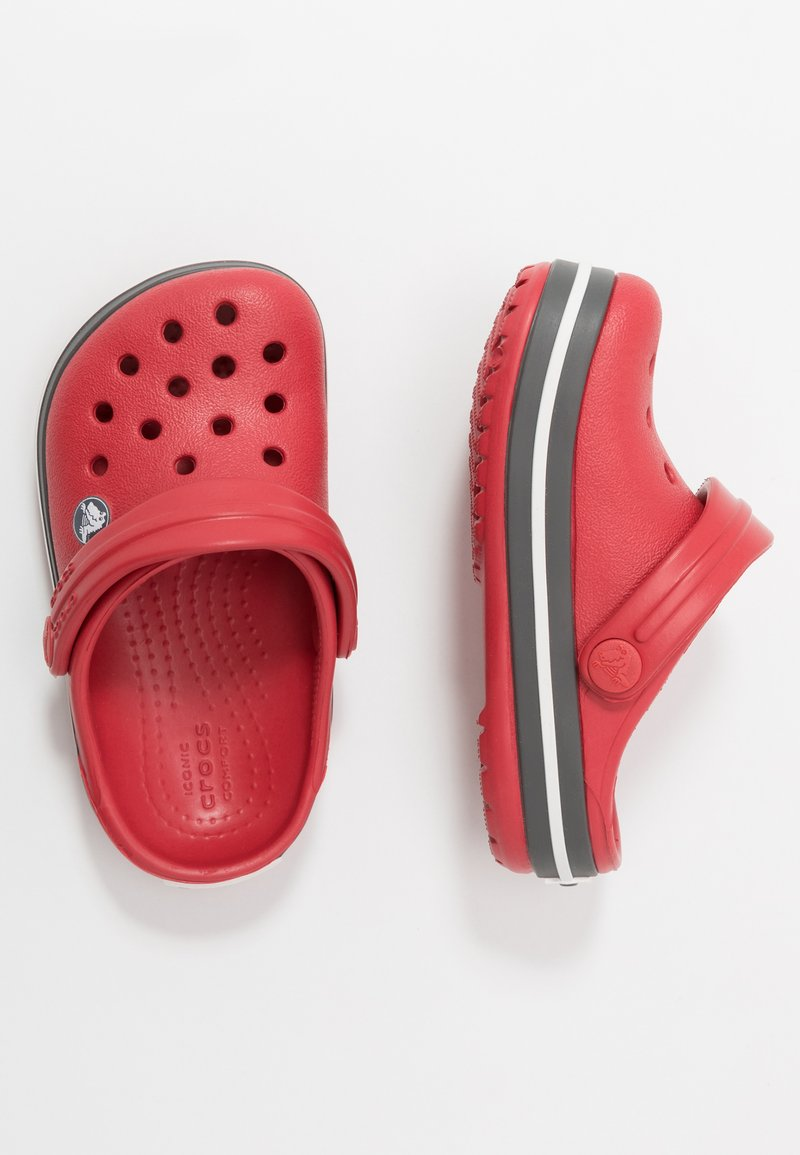 Crocs - CROCBAND - Sandały kąpielowe - pepper/graphite