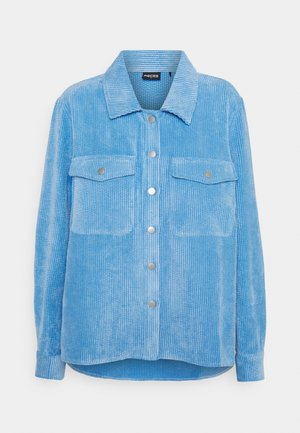 PCSTEFFI CORDUROY SHIRT  - Button-down blouse - little boy blue