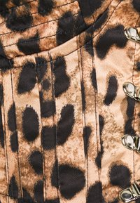 Missguided - CUPPED BODICE LEOPARD PRINT - Bluser - brown - 2