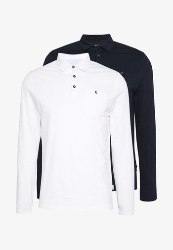 2 PACK - Polo shirt - navy