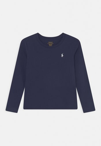 TEE - Long sleeved top - french navy/white