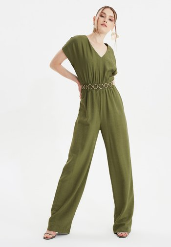 TRENDYOL TWOSS21TU0050 - Overall / Jumpsuit - green