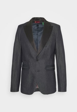 TUXEDO - Blazer jacket - arak denim/raw denim