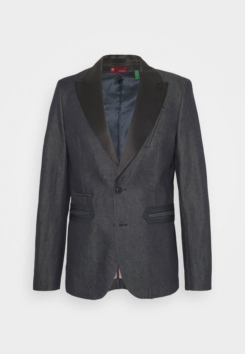 G-Star - TUXEDO - Blazer jacket - arak denim/raw denim
