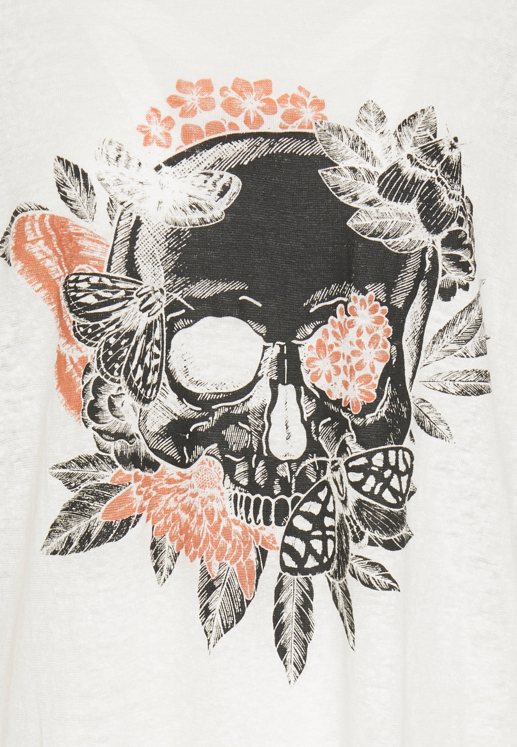 Be Edgy BECHUCK - Printtipaita - white C9cdP