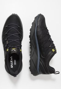 Salewa - MS DROPLINE GTX - Hiking shoes - black out/fluo yellow - 1