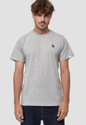 HERZ - T-shirt basic - hellgrau