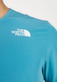 The North Face - TRUE RUN - Print T-shirt - storm blue - 4