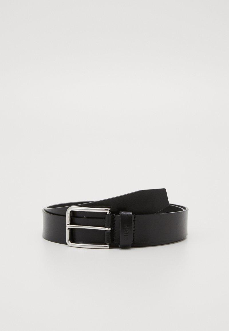 Zign - UNISEX LEATHER - Belte - black