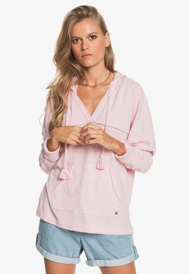 SUNRISE SURF - Jersey con capucha - pink mist