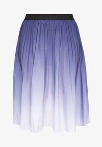 MY TRUE ME TOM TAILOR - PLEATED MIDI SKIRT - A-line skirt - real navy blue - 4