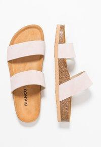 Bianco - BIABETRICIA TWIN STRAP - Slippers - light pink - 3