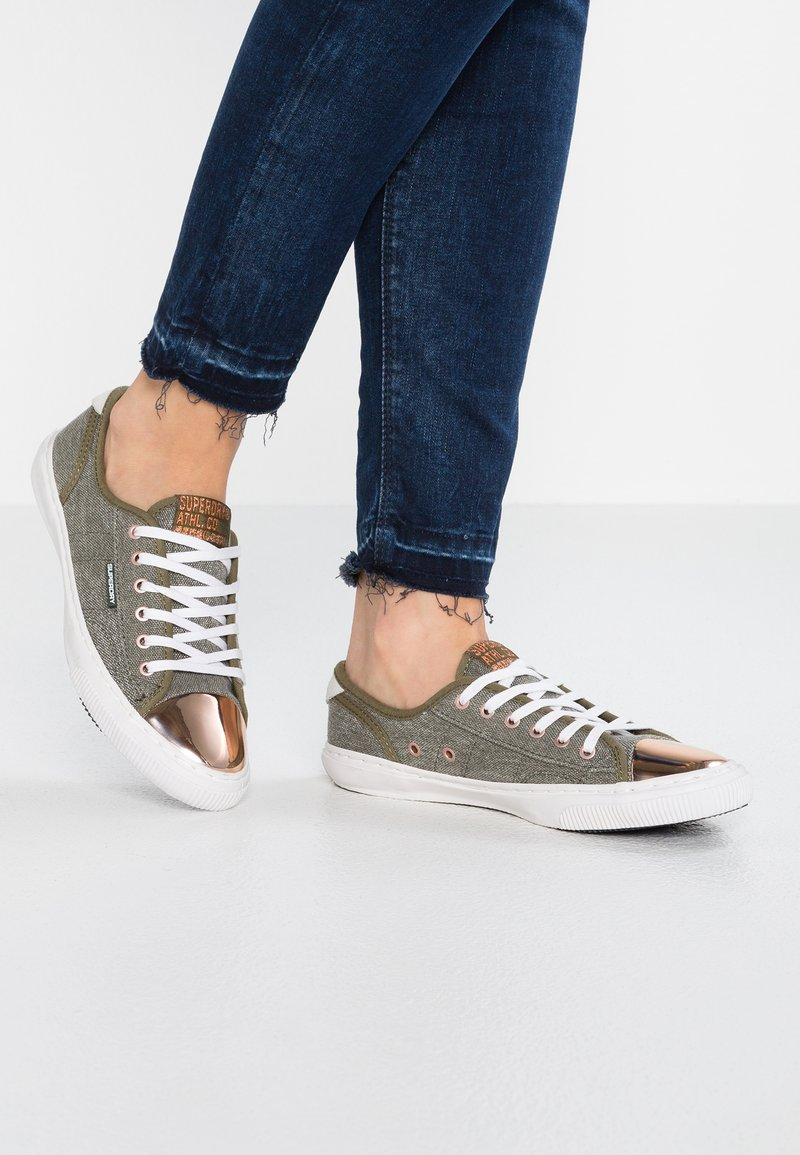 Superdry - PRO LUXE  - Trainers - washed khaki