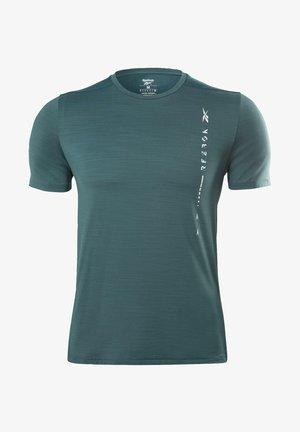 ACTIVCHILL MOVE T-SHIRT - Print T-shirt - green