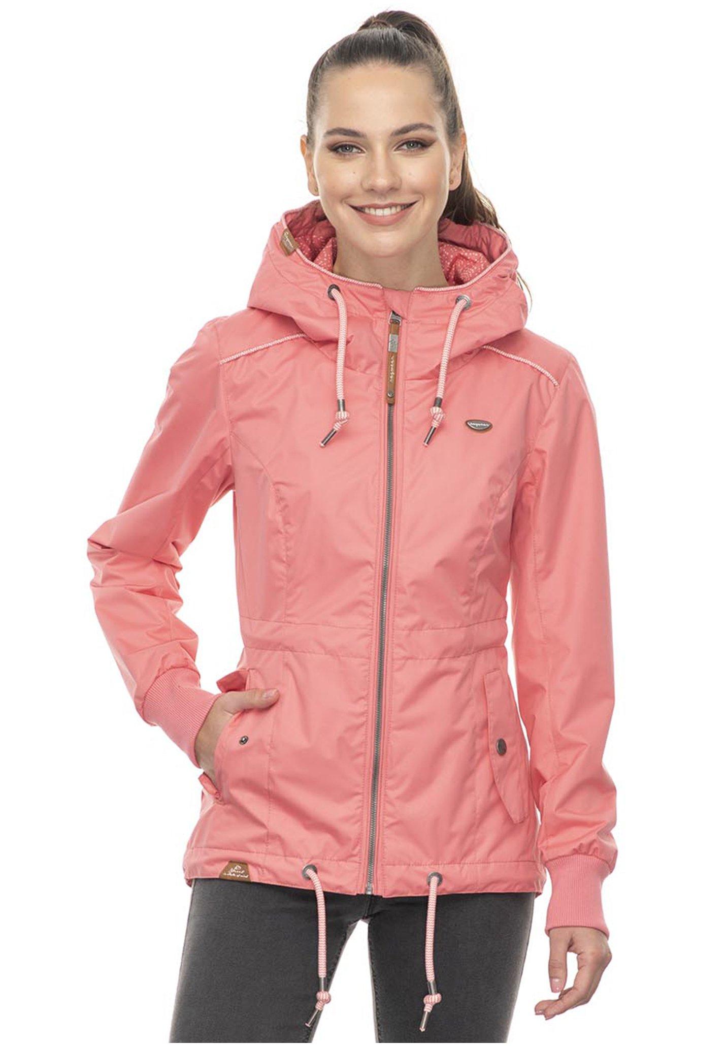 ragwear Monadis Jacke für Damen Pink Planet Sports