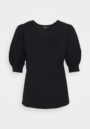CARINE LOVELY SWEATER - Trui - black