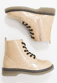 Friboo - Lace-up ankle boots - gold - 0