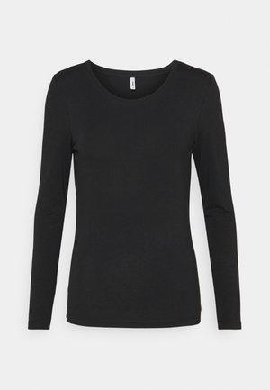 ONLFIFI LIFE O NECK - Maglietta a manica lunga - black