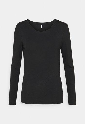 ONLFIFI LIFE O NECK - Camiseta de manga larga - black