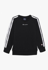 Champion - LEGACY AMERICAN CREWNECK UNISEX - Sweater - black - 0