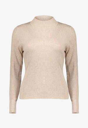 KNITTED TOP - Jumper - sand