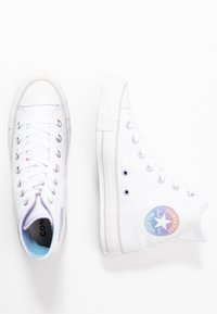 Converse - CHUCK TAYLOR ALL STAR - Sneakers hoog - white/multicolor/pale putty - 3
