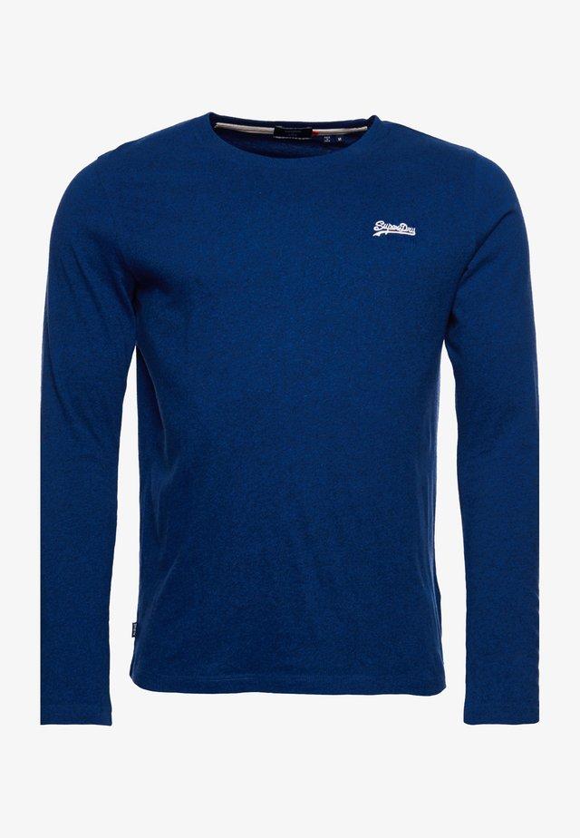 OL VINTAGE EMB LS - Maglietta a manica lunga - voltage dark blue grit