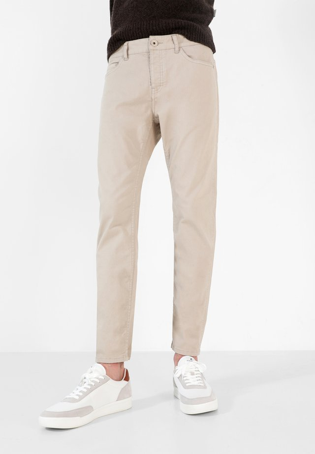 FIVE POCKETS PANTS - Trousers - beige