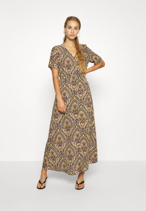 ONLHANNA S/S ANCLE DRESS WVN - Maxi dress - gold