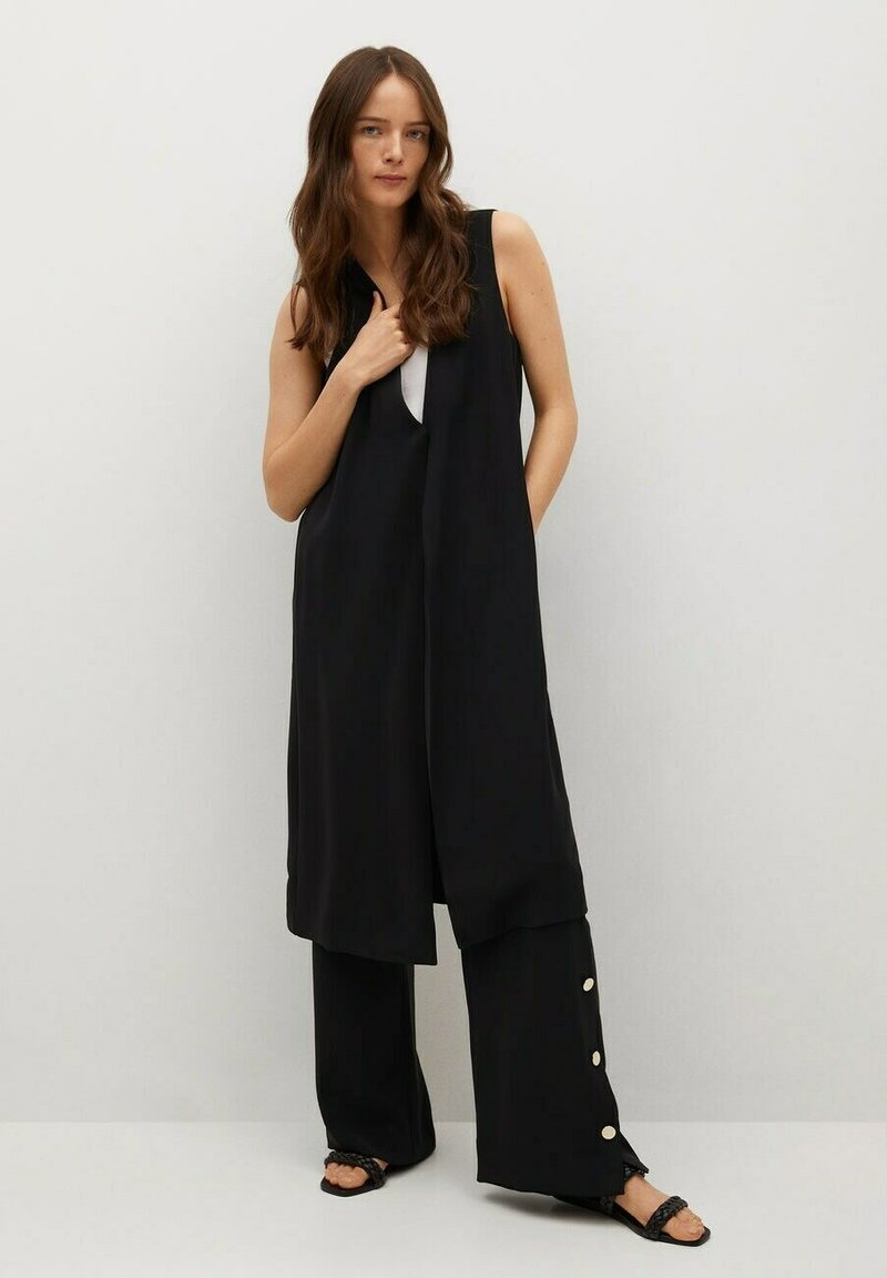 Mango - Vest - schwarz