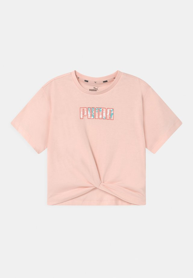 ALPHA SILHOUETTE  - T-shirt con stampa - cloud pink