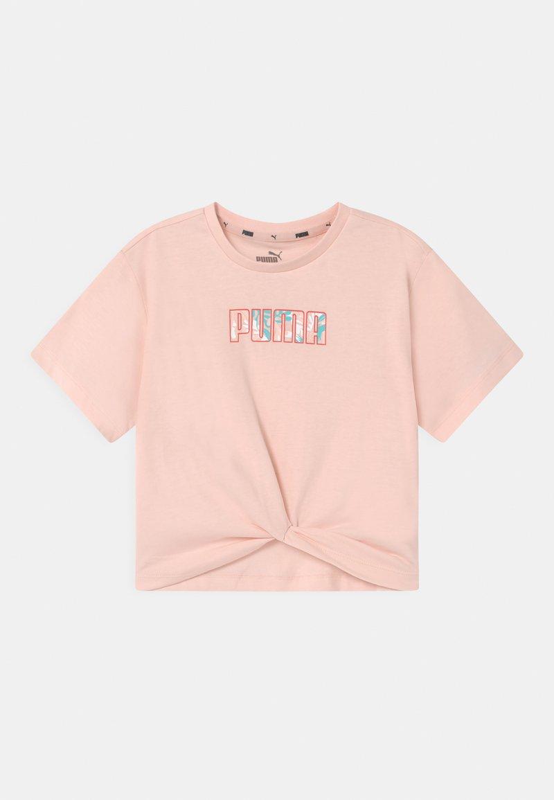 Puma - ALPHA SILHOUETTE  - Print T-shirt - cloud pink