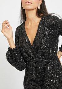 Vila - Cocktail dress / Party dress - black - 4