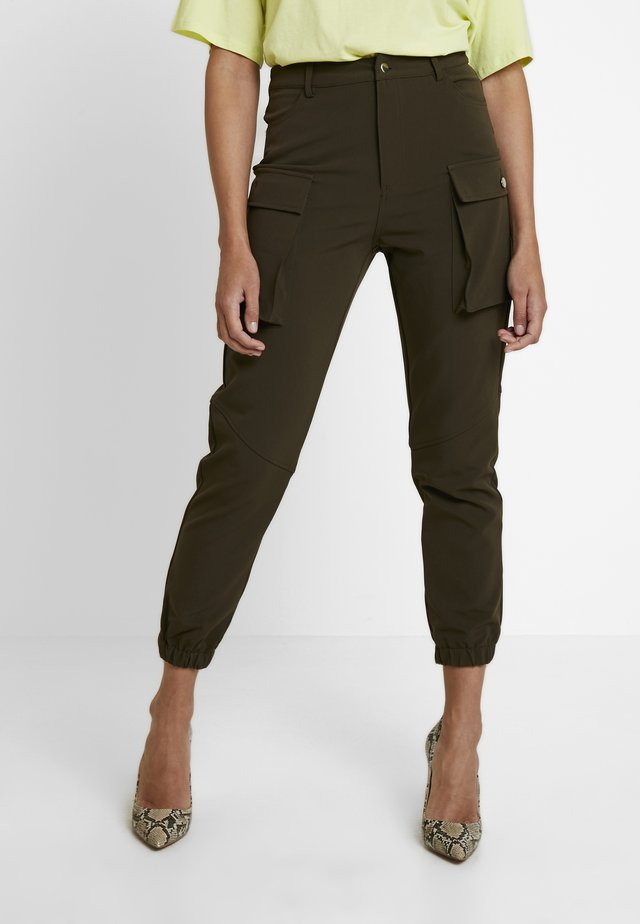 CARGO TROUSERS - Trousers - khaki