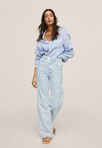 Mango - Flared Jeans - hellblau - 1