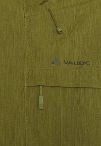 Vaude - ROSEMOOR JACKET - Waterproof jacket - bamboo - 5