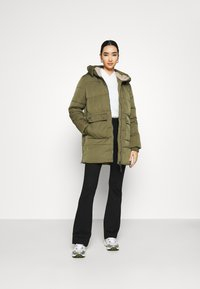 Tommy Jeans - HOODED  - Winter coat - olive tree - 1