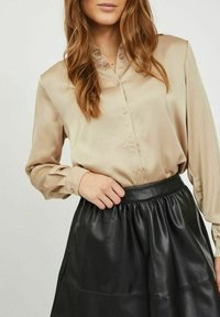 Vila - Button-down blouse - humus - 3