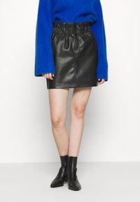 ONLY - Mini skirt - black - 0