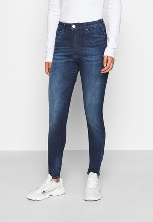 SYLVIA SUPER SKNY - Jeans Skinny Fit - dynamic mira dark blue
