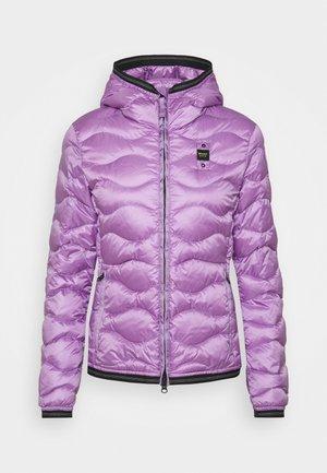 BASIC WAVE HOOD - Down jacket - lilac