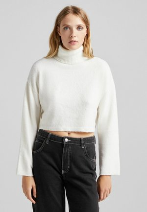 CROPPED - Jumper - white