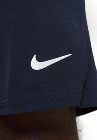Nike Performance - FLX ACE - Sportovní kraťasy - obsidian/white - 4
