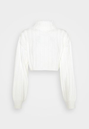 CROPPED DETAIL  - Strickpullover - off white