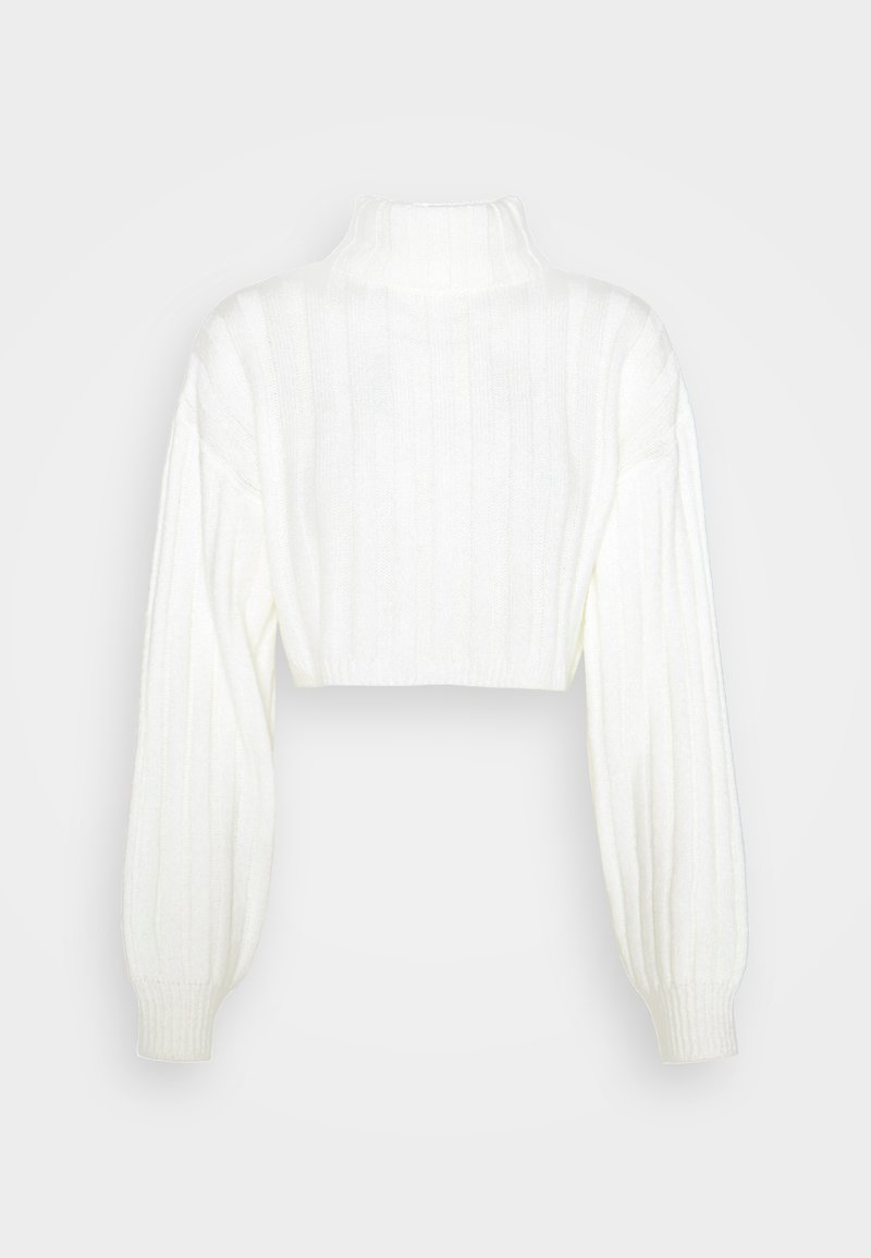 NA-KD - CROPPED DETAIL  - Jumper - off white