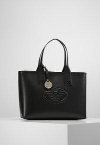 Emporio Armani - ZIP EAGLE - Handbag - nero - 0